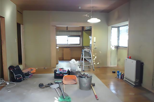 一戸建て キッチン before