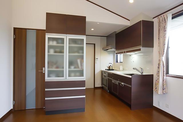 一戸建て キッチン after