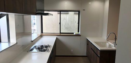 一戸建て キッチン2 after