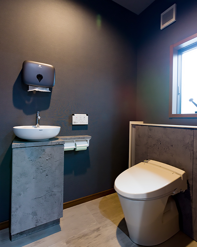 一戸建て 二世帯 トイレ after